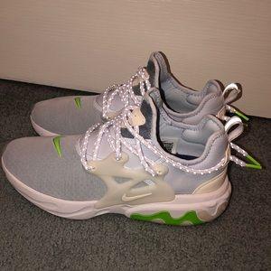 Women's Nike react Presto shoes